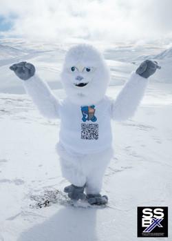 Aberdeen snow sport club mascot