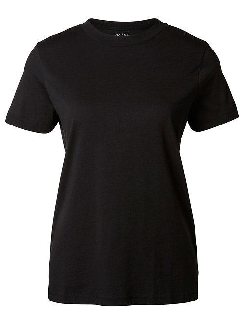 t-shirt rond neck black