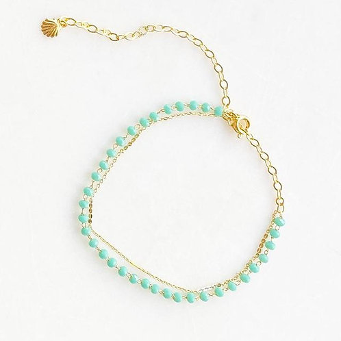 Anklet Double Green