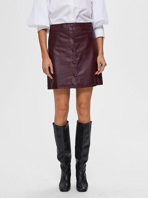 Leather skirt Ally