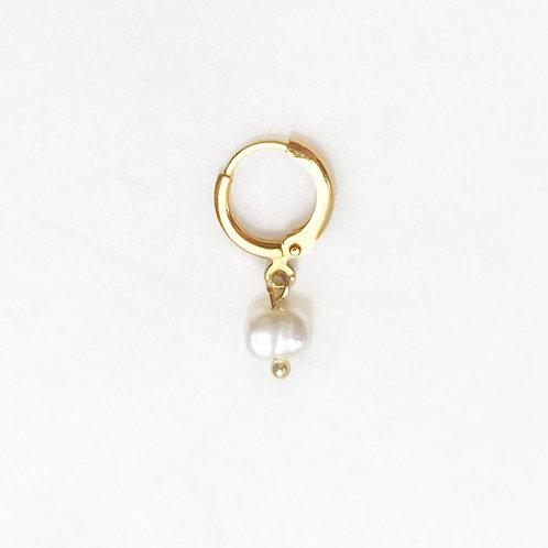 Earring Natural pearl