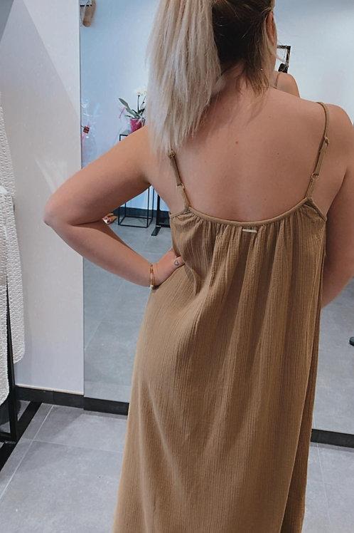Ava Dress Brwn
