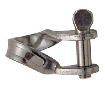 SHACKLE SLIM TWISTED (spindle) Ø 5 mm