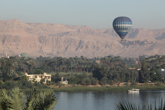 Hot air Balloon daily flights over the West Bank of Luxor is a major highlight.