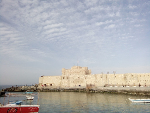 Qaitbay Fortress, Alexandria.