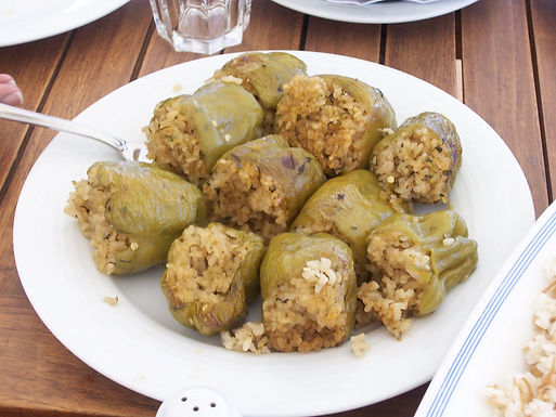 Egyptian Cuisine had been affected by all the travelers and invaders that came to Egypt, therefore creating a rich varied cuisine.