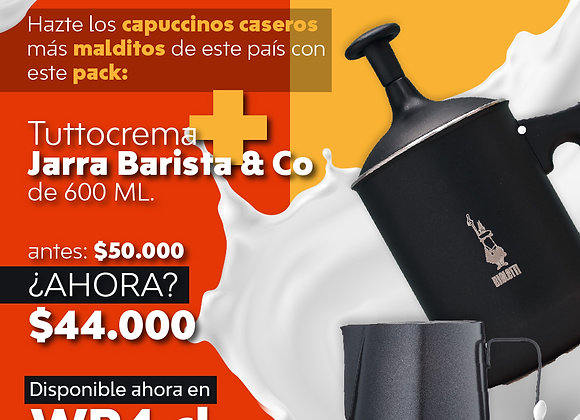 Tuttocrema + Jarra