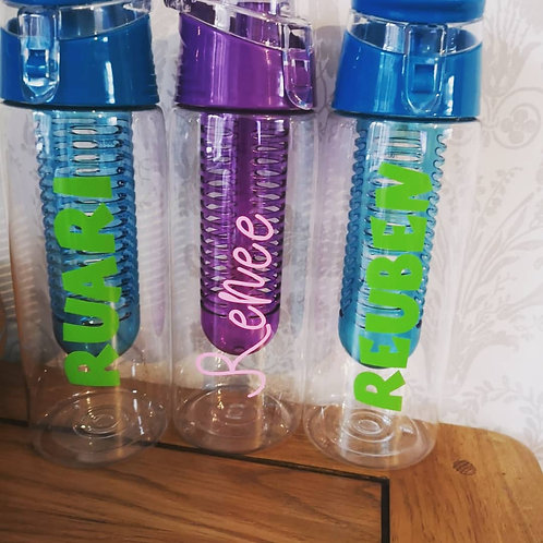 Personalised Infuser Water Bottle