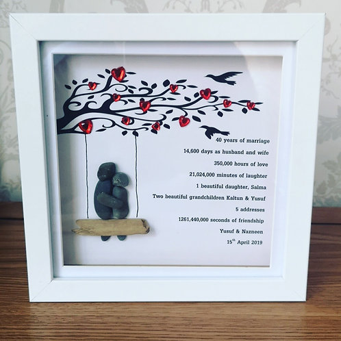 Personalised Ruby Annivers\ry Frame