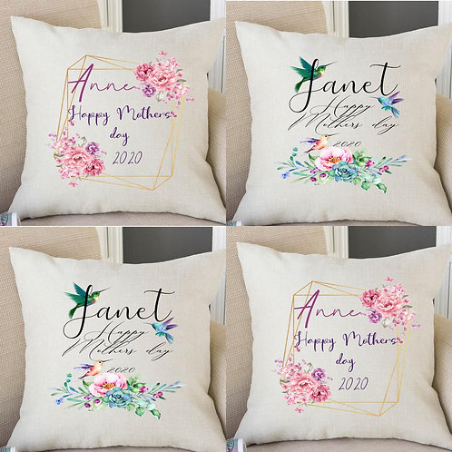 Personalised Mother's day gift cushion
