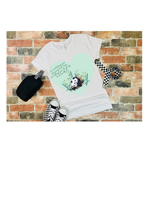 Personalised Panda Tee shirt
