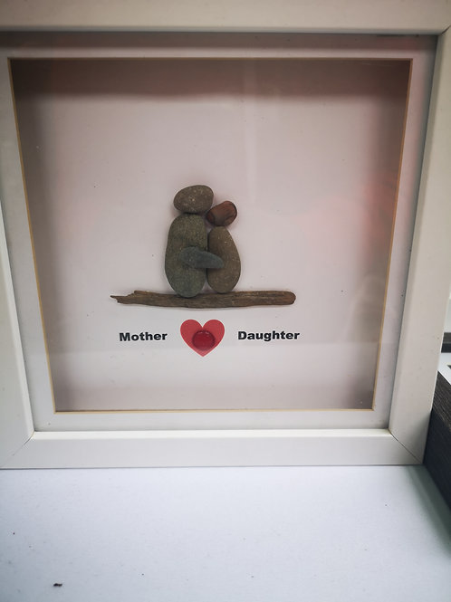 Mother/mum and daughter frame