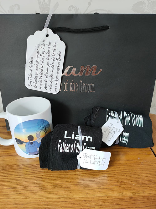 This is a great set for the best man, groomsmen, father of the bride or groom
