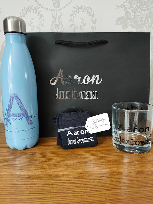 Personalised Page Boy / Junior Groomsman Gift set