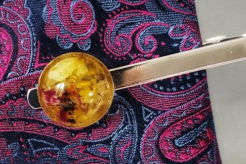 Flower Preservation Tie Pin