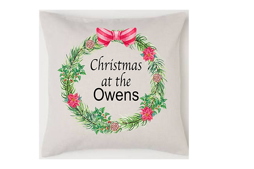 Personalised Christmas Cushion