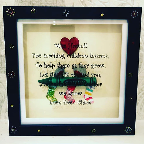 Personalised Teachers Christmas Gift
