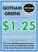 Expansion of Gotham Greens