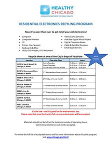 electronics recycling program flyer-page