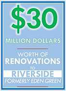 $30 Million worth of Renovations to Riverside