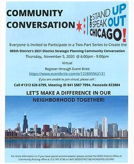 5th District Community Conversation pt2.