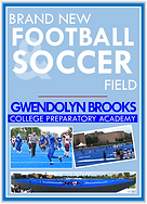 New Football/Soccer Field at Brooks College Prep