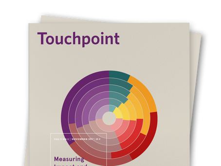 Touchpoint Editor's Letter: Measuring Impact and Value
