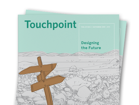 Touchpoint Editor's Letter: Designing the Future