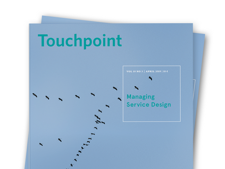Touchpoint Editor's Letter: Managing Service Design