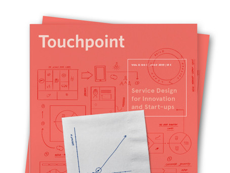 Touchpoint Editor's Letter: Service Design for Innovation and Start-ups