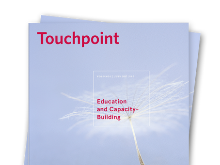 Touchpoint Editor's Letter: Education and Capacity-Building