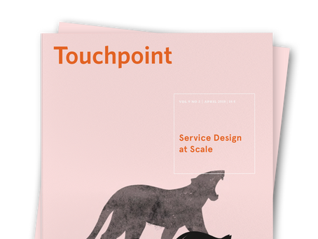 Touchpoint Editor's Letter: Service Design at Scale