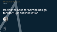 Service design and innovation