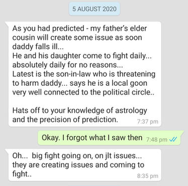 Astrology gives answer in times of turmoil
