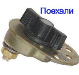 Выключатель массы (поворотный)  ВК 318Б У-ХЛ картинка