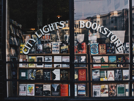 Joseph Lease at City Lights Bookstore