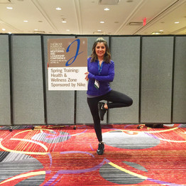 Jackie Robinson Foundation Leadership Conference Yoga