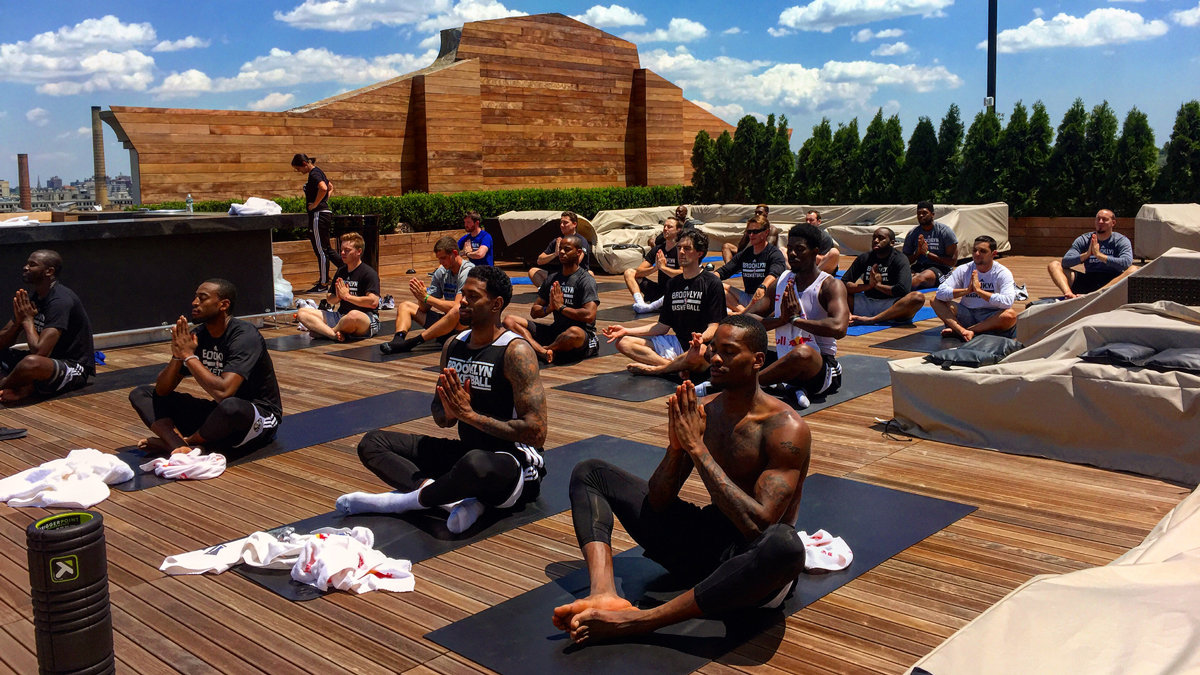 Team Yoga Session