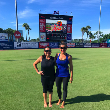St. Lucie Mets Yoga Day