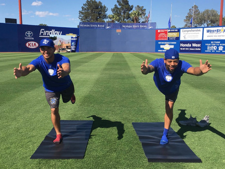 LAS VEGAS: Yoga on the Field with the 51s