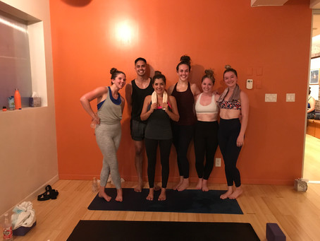 Staying Hydrated in a Hot Yoga Room