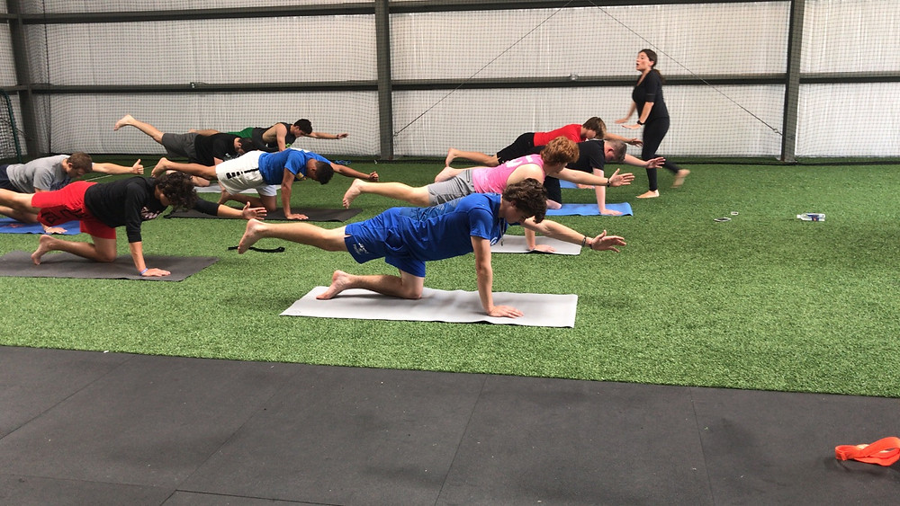 Yoga for Baseball Players
