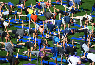 2016 Mets Yoga Day at Citi Field