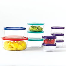 Leftover Containers, Pyrex Glass.jpg