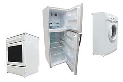 Appliances, Range, Refrigerator, Freezer