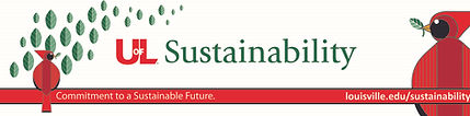 UofL Sustainability Banner (narrow with