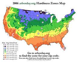 Hardiness Zone Map, 2006.jpg