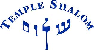 Logo, Temple Shalom, blue.png
