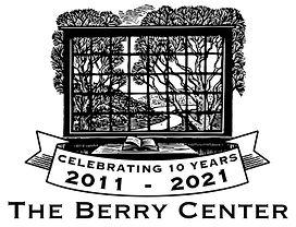 Logo, Berry Center, 10years c text, jpg.