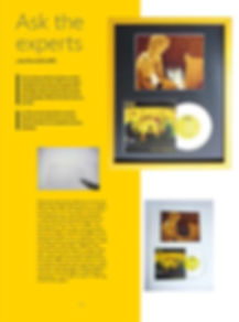 4Walls picure framing Ask the Experts article written by Jon Price GCF (APF) of Handmade Framing and Gallery, Bude, Cornwall.